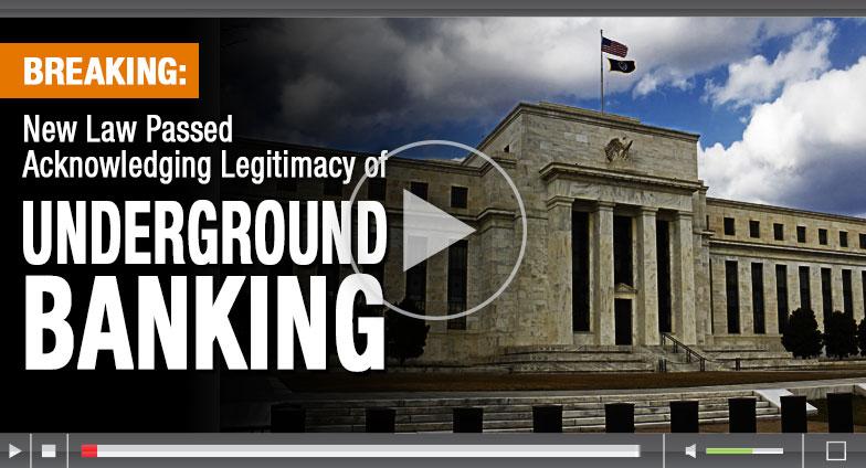 New Law Passed Acknowledging Legitimacy of Underground Banking
